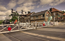 Railway Tavern Grosmont  by Rob Hawkins