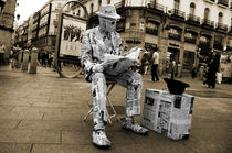Newspaper Man by Rob Hawkins