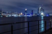 Hamburger Skyline mit Elbphilarmonie von Moritz Wicklein