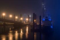 Die Großer Michel im Nebel  von Moritz Wicklein
