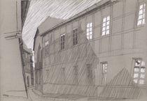 'enge Gasse' von Hanna Aschenbach