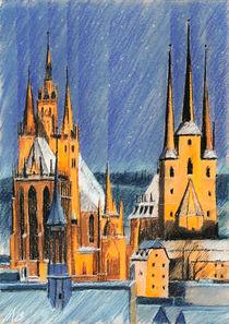 'Erfurter Dom' von Hanna Aschenbach