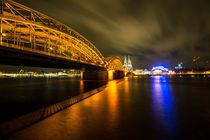 Nacht auf dem Rhein by Rob Hawkins