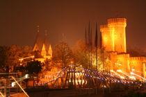 Köln bei Nacht I von friedas