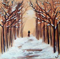 Winterspaziergang von Vera Markgraf