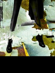 Black shoes by Gabi Hampe