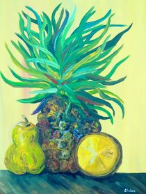Pear-and-pineapple-painting