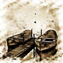 Twin Boats by Carmen Wolters