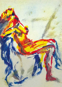Sitting Figure | Sitzende Gestalt | Figura sentada by artistdesign
