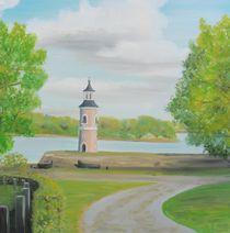 Leuchtturm Moritzburg von Barbara Kaiser