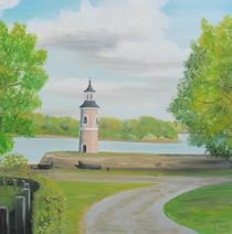 Leuchtturm Moritzburg by Barbara Kaiser