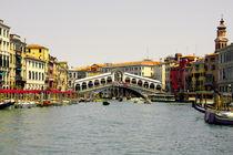 Rialto Bridge Venice by Rob Hawkins