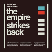 STAR WARS THE EMPIRE STRIKES BACK von carabarts