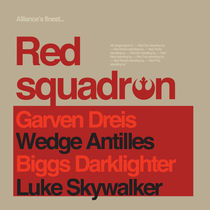 STAR WARS RED SQUADRON von carabarts