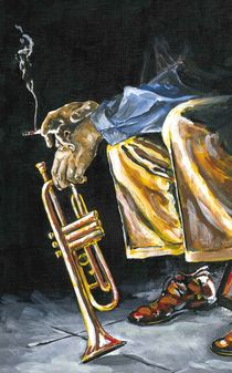 Smok'in Trumpet by Robin (Rob) Pelton