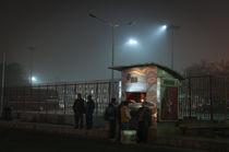 Delhi-Ticketcounter  von Stefan Frank