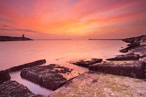 Sunset at sea by Sara Winter