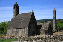 St Kevins Church And Round Tower by Aidan Moran