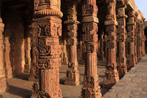 Decorative Pillars - Qutab Minar von Aidan Moran