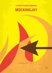 No175-3 My MOCKINGJAY - The Hunger Games minimal movie poster by chungkong
