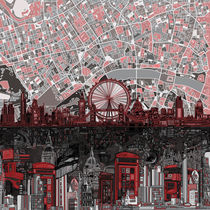 London skyline abstract by bekimart