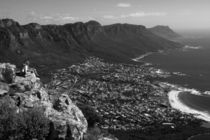 Camps Bay View Cape Town by Aidan Moran