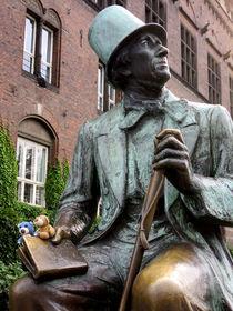 Zwei Teddys im Buch von Andersen by Olga Sander