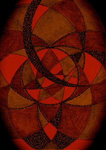 Dunkle Welt Meditation I von Heike Nedo