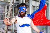 Hipster Superhero by Pier Giorgio  Mariani
