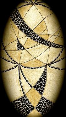 Geometrisches Oval von Heike Nedo