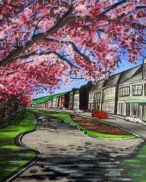 Bank-street-gardens-galashiels-acrylic-on-box-canvas