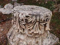Carved Roman Capital by Malcolm Snook