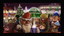 Weihnachtsmann-auf-dem-weihnachtsmarkt