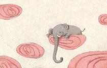 Schlafender Elefant von Constanze  von Kitzing