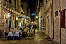 Dubrovnic at night von Colin Metcalf