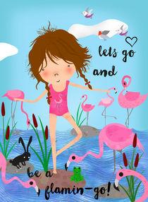 Emma and the Flamingos by Elisandra Sevenstar