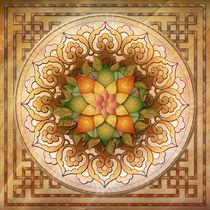 Mandala Leaf Rosette V1 by Bedros Awak