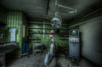 Dark x ray room by Nathan Wright