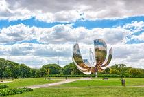 Floralis Generica in Buenos Aires 1/2 by Steffen Klemz