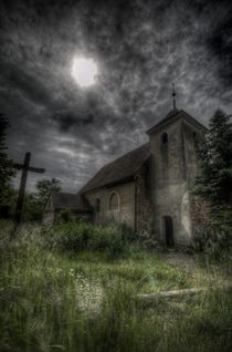 Summer church by Nathan Wright