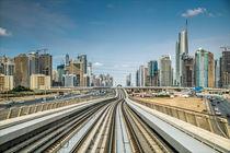 Dubai Metro von Dieter Wundes