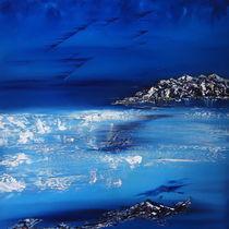 Winter scene in the alps von abstrakt