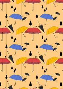 Little Umbrellas by Emily Attarian