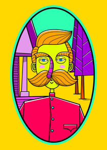 Mister Moustache by kreasimalam