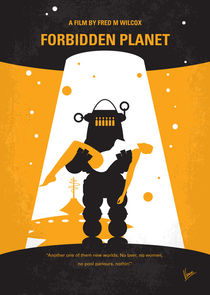No415-my-forbidden-planet-minimal-movie-poster