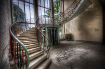 Water pump stairs von Nathan Wright