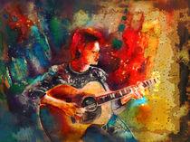David Bowie Madness by Miki de Goodaboom