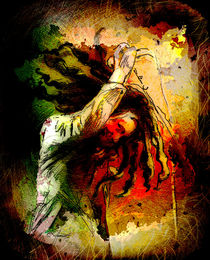 Bob Marley 07 Madness von Miki de Goodaboom