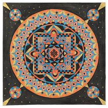 Mandala Nr. 12 von Sylvia  Sachse