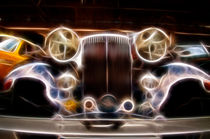 Classic car art by Nathan Wright